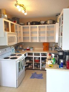 small kitchen magical makeover