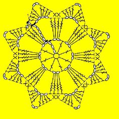 snowflakes crochet 79 schema