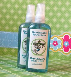 Nag Champa Body Mist  -  Handcrafted in Martinsville - Matches our Soap Lotion and Body Frosting