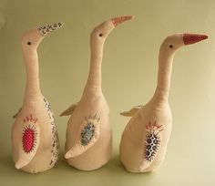 By Gretel Parker I LOVE Runners (that's the type of duck these are)