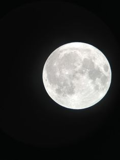 Gorgeous full moon