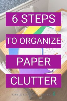 Paper clutter tips. How to tackle paper clutter. How to organize paper clutter. how to declutter papers. Paper systems to have in your home. Paper organizing tips for your office and your home. How to set up paper systems the easy way. Organize paper clutter today!  #paperclutter #declutter #papersystems