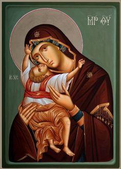 Religious Images, Religious Icons, Religious Art, Byzantine Icons, Byzantine Art, Orthodox Christianity, Painting Studio, Icon Collection, Orthodox Icons