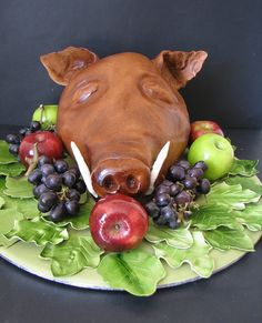 Medieval Feast Cake by phillipascakes, via Flickr