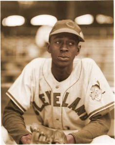 Satchel Paige as a ROOKIE (41 years old when he was drafted from the Negro league into the major league.)