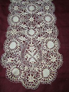 Maltese silk handmade lace scarf