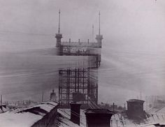 The old Stockholm telephone tower - 1890