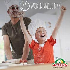 Oggi c'è un motivo in più per regalare un sorriso! Magari insieme ad una pizza..