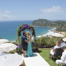 Jonah's Whale Beach on Sydney's northern beaches is an elegant venue for a small to medium wedding ceremony and reception. www.sydneycelebrantelainesearle.com.au