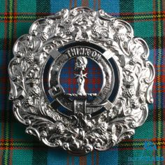 Clan Plaid Brooch
