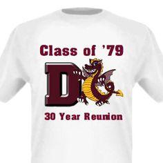 class reunion shirt ideas