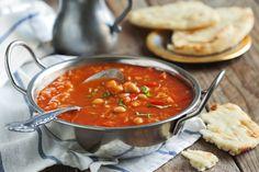 Marocká polévka s cizrnou
