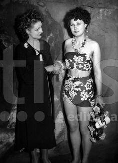 Yvonne Viseux 1947 Miss france, France et Beauté