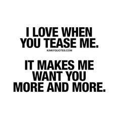 Oh yeah! Definitely makes me want you sooo bad!!