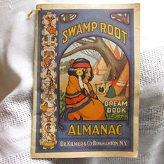 1940 Dr. Kilmer's Swamp  Root Almanac  Booklet by Myvints on Etsy