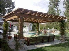 patio-pergola-landscape-design-with-pool-ideas