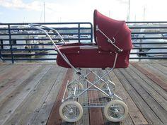 Vintage Teutonia Buggy Stroller European Pram Carriage West Germany #Teutonia
