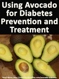 Why avocado is so good for diabetes prevention, stabilizing blood sugar levels and even reducing the impact of the disease for diabetics with it's unique nutrients superfoodprofiles...