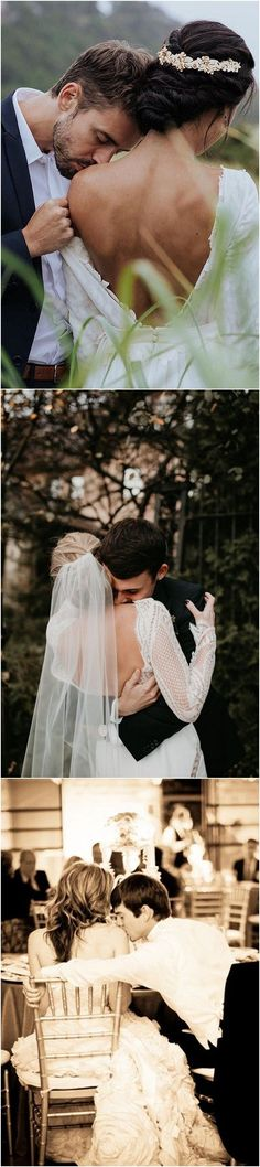 20 Romantic Shoulder Kiss Wedding Photography Pose Ideas – wedding photography bride and groom Rustic Wedding Photography, Couple Photography, Photography Ideas, Wedding Kiss, Wedding Quotes, Couple Photoshoot Poses, Wedding Photoshoot, Shoulder Kiss, Groom Poses