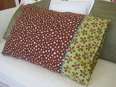Tutorial for making a pillowcase with a French seam...very sharp and very easy!!!