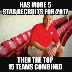Ohh that's Urban Meyer for ya!