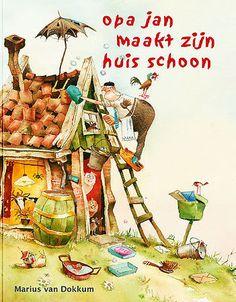 Leuke geschenken voor de feestdagen vindt u bij Bax Kunst, waaronder deze Opa Jan kinderboeken van Marius van Dokkum.