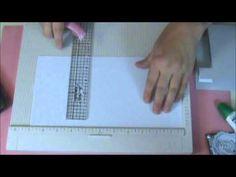 How to Make a Center Step Christmas Card #video #tutorial