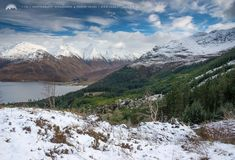 The Five Sisters of Kintail some of Scotland's most iconic peaks.
