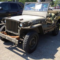 1945 Willys U.S. Army Jeep - Assigned to 82nd Airborne