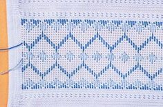 Thrilling Designing Your Own Cross Stitch Embroidery Patterns Ideas. Exhilarating Designing Your Own Cross Stitch Embroidery Patterns Ideas. Swedish Embroidery, Hardanger Embroidery, Hand Embroidery Stitches, Embroidery Techniques, Cross Stitch Embroidery, Embroidery Patterns, Bargello Needlepoint, Motifs Bargello, Bargello Patterns
