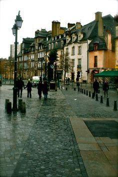 Place des Lices ♡ Rennes ♡ Bretagne ♡ FRANCE