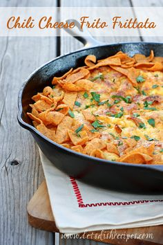 Chili Cheese Frito Frittata (Let's Dish Recipes) Paleo Recipes, Mexican Food Recipes, Cooking Recipes, Easy Recipes, Pozole, Churros, Empanadas, Nachos, Enchiladas