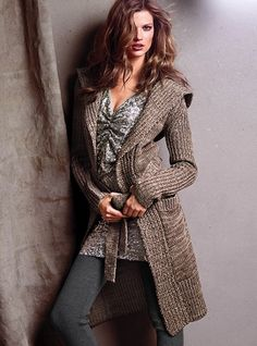 Hooded Sweater Coat - Victoria's Secret