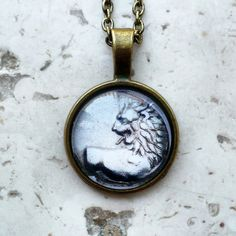 #ArtPassionBijoux by Sara, #italian #handmade #jewelry inspired by #art - Ancient #coins medallions collection: #Lion, greek art, history, #archaeology, #Zodiac
