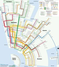 Artist Max Roberts has re-imagined the NYC subway map in a concentric design.