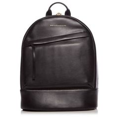 WANT Les Essentiels Black Piper Backpack ($895) ❤ liked on Polyvore featuring bags, backpacks, black, want les essentiels de la vie, padded backpack, backpack bags, daypack bag and rucksack bags