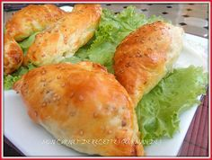 CHAUSSONS VIANDE-MOZZARELLA,recette ramadan,recette de pâte farci a la viande