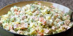 Ensaladilla rusa light/ Spanish Russian Salad with tuna Dutch Recipes, Hungarian Recipes, Greek Recipes, Homemade Potato Salads, Creamy Potato Salad, Imitation Crab Salad, Salad Recipes, Healthy Recipes, No Cook Meals