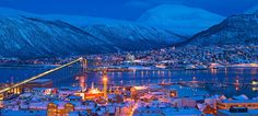 Norway in Winter Town in Darkness | ... about Tromsø - Official Travel Guide to Norway - visitnorway.com