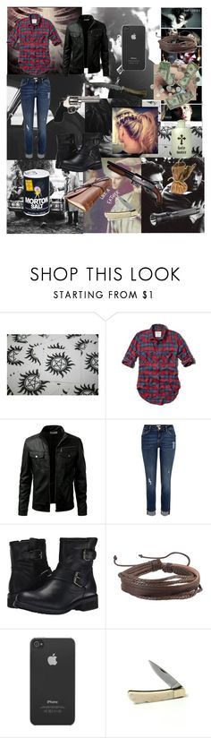 """""""Supernatural#193"""" by tkcostner ❤ liked on Polyvore featuring Abercrombie & Fitch, River Island, Steve Madden, Zodaca, Incase, Payne, Blackbird, Revolver, women's clothing and women"""