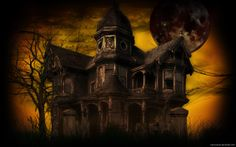 Real Scary Haunted Houses | ... Ya Know: Saturday before Halloween...haunted houses/real vs not real