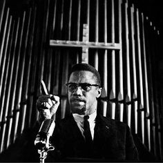 Like a lot babies, my first real introduction to el-Hajj Malik el-Shabazz, known to the world as Malcolm X, came from Spike Lee's 1992 film. Back then, Brotha Malcolm (as I've… Malcolm X Quotes, Gil Scott Heron, Black Leaders, Human Rights Activists, Civil Rights Leaders, By Any Means Necessary, Black History Facts, Powerful Images, Poster Pictures
