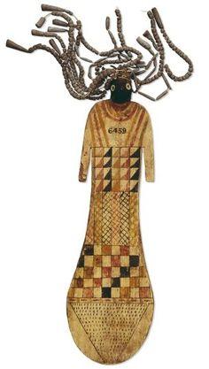 Paddle Doll. Old Kingdom, Egypt.