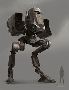 Jumper Picture (2d, sci-fi, mech, robot)