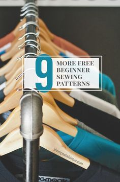 9 More Free Beginner Sewing Patterns and Tutorials
