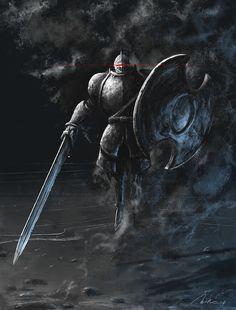 The Pursuer from Dark Souls II by MikeJordana on DeviantArt