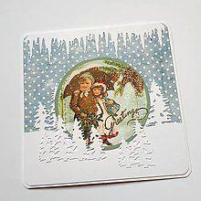 Papiernictvo - Vianočná pohľadnica - 8503933_