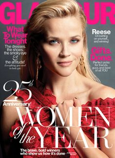 Actress @ Reese Witherspoon - Glamour Magazine, December 2015