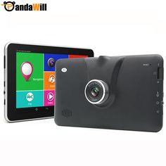 """7"""" Android 4.4 Car GPS Navigation 16GB MT8127 Quad-Core Car DVRS Video WIFI Russia/Europe/navitel Sat Nav Truck vehicle gps -- Learn more by visiting the image link."""