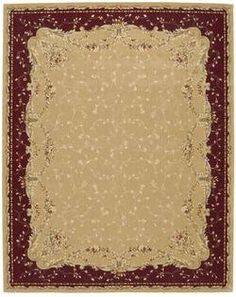 Nourison Grand Chalet CL04 12' x 15' Gold Area Rug by Nourison. $2889.15. Nourisons Grand Chalet Collection features classic European and transitional designs that will enhance the ambience of the most sophisticated interior dcor. Offered in a wide assortment of shape and size options, including elegant scalloped rounds, high fashion ovals, and mansion-size squares and rectangles - all, of course, in addition to a full assortment of standard room sizes and runner...
